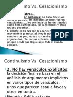 01-CONTINUISMO-VS-CESACIONISMO.ppt