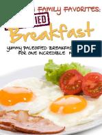 Paleofied Breakfast Recipes