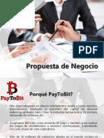 Propuesta de Negocio Paytobit