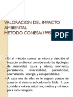 Valoracion Del Impacto Ambiental Qm