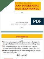 10. PD Orde 1 Dan Terapannya