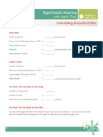 Patterns Instructions