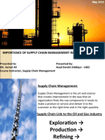 PSO Supply Chain Management