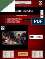 Historia Poder Judicial