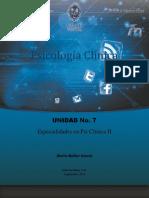 ML - Psicologia Clinica - Und 7