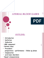 Aterial Blood Gases