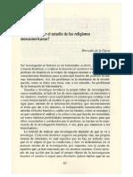 Mercedes de la Garza - Cómo abordar el estudio de las religiones mesoamericanas - Copiar.pdf