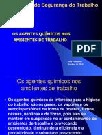 Os Agentes Quimicos Nos Ambientes de Trabalho FMU