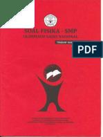 OSN Fisika SMP 2012 Tingkat Kabupaten.pdf