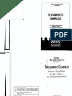 Gonzalez Moena Sergio - Pensamiento Complejo