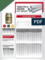 F.T.-Tubo-PVCU-Presion-NTP-399.003-399.002