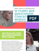 Filmes Que Questionam Conceitos Morais - ebook Cinefilia Incandescente