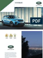 Range Rover Evoque Broschure 1L5381810CC0BXCDE01P Tcm287 387212