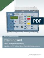 ANSI MV Recloser SDR Training Aid En