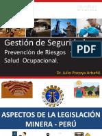 Aspectos de La Legislación Minera_gestión de Sso