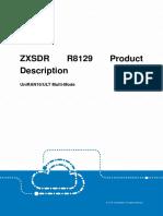 ZXSDR R8129 Product Description_UniRAN16
