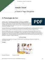 A Psicologia Da Cor _ Design e Comunicação Visual