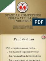 Standar Kompetensi Perawat Dialisis Niken Dharmawati Cahyaningsih s.kep .Ners