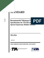 TIA standard