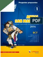 │EC│ BIOLOGIA 1 ANUAL BCF - ADUNI 2016