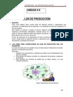 Unidad 6 Plan de Produccion
