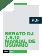 Serato DJ 1.9.10 Software Manual - Spanish