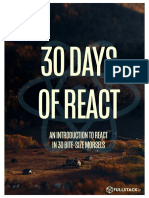 30 Days of React eBook Fullstackio