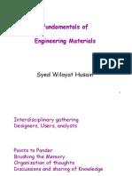 Engg Materials I FAC