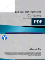 Thermal Instrument Company Ppt