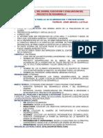 Orientaciones Para El Informe Final Del Proyecto de Desarrollo