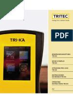 TRITEC TRI KA Manual v2.2 de en Es Fr It