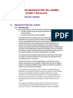 Proceso de Manufactura Del Hierro (1)