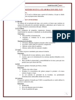 Procesos Bioquimicos en La Elaboracion Del Pan