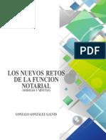 Los Nuevos Retos de La Funcion Notarial - Gonzalo Gonzalez