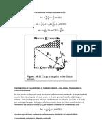Carg de Distribucion Triangular Sobre Franja Infita