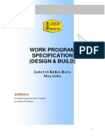 Work Program Specification (Design & Build)