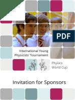Iypt Sponsorship 2012