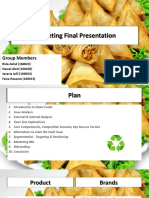 Marketing Final Presentation