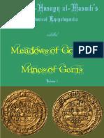 Masudi - Meadows of Gold, Vol. 1 (English Trans.)