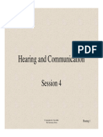 Hearing and Communication by R.S. Tyler