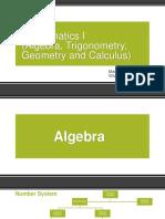 Mathematics I -Final