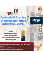 Higher Education 4.0 Current Status and Readiness in Meeting the Fourth Industrial Revolution Challenges (1)