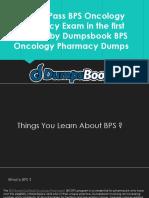 BPS Oncology Pharmacy Exam Dumps