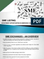 Presentation on SME Listing 27-12-2012