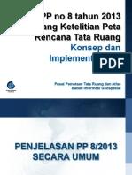 PP No 8 Tahun 2013 Tentang Ketelitian Pe
