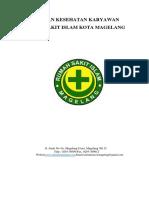 Cover Panduan Kesehatan Karyawan