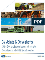 CV Joints and Driveshafts