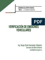 Verificacion de Emisiones Vehiculares
