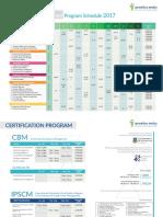 Schedule Public Programs 2017