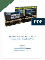 Habilitando o TELNET e TFTP No Windows 7 e Win Vista